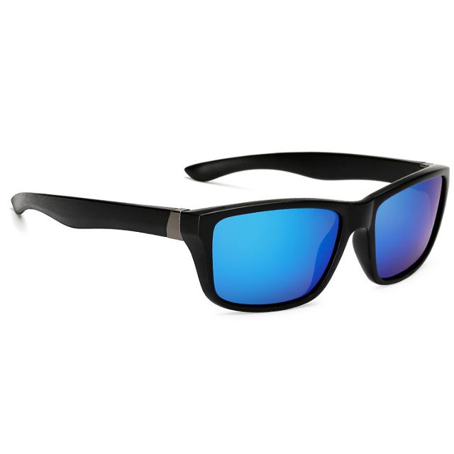 Poliarizuotų mėlynų lęšių akiniai