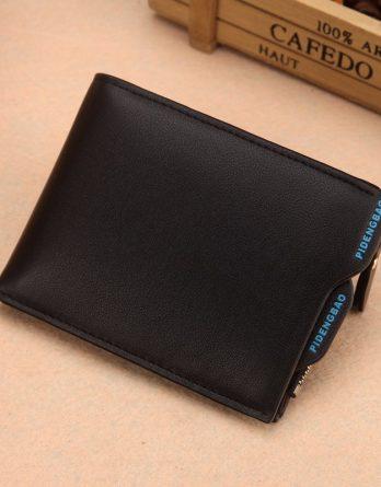 juoda vyriška piniginė